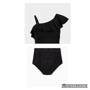 Torrid Black Swim Set
